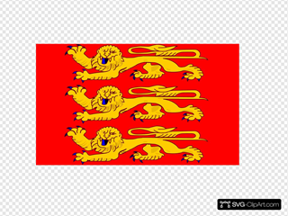 Variation Of The Flag Of Lower Normandy