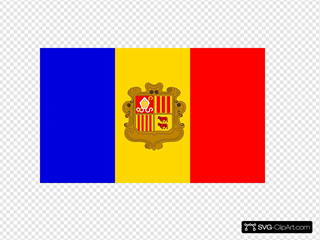 Andorre Flag
