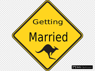 Getting Married SVG Clipart