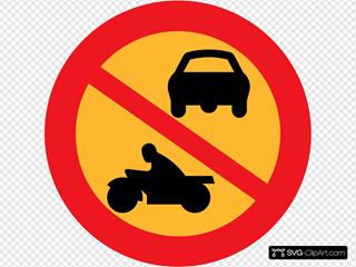 No Motorbikes Or Cars