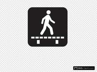 Walk On Boardwalk Board Black