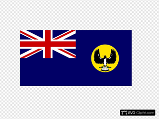 Incomplete Flag Of The Governor Of South Australia