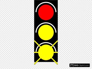 Red Light Traffic Light