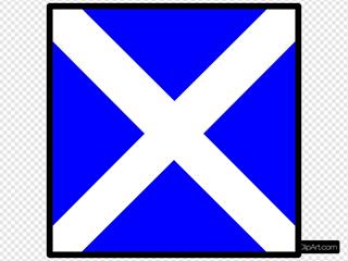 International Maritime Signal Flag Mike