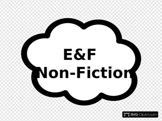 E And F Nonfiction Sign