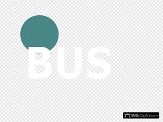 Turquoise Bus 70 Percent