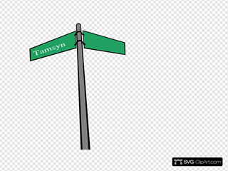 Tamsyn Street Sign