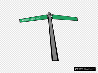 Us-zurich Street Sign