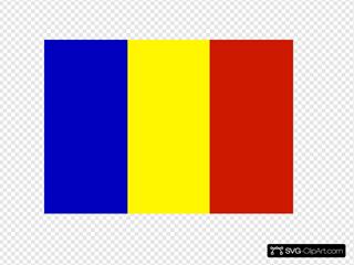 Flag Of The Republic Of Romania