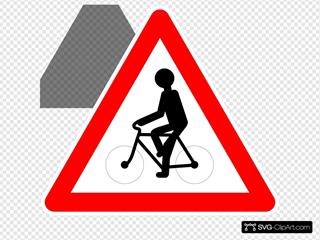 Bicyclist Zone Sign