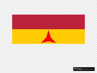 Flag Of The International Brigades