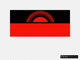 Flag Of The Republic Of Malawi