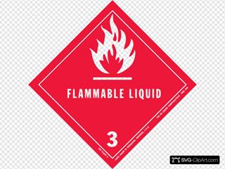 Label For Dangerous Goods Class