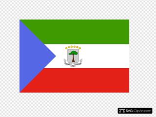 Flag Of The Republic Of Equatorial Guinea