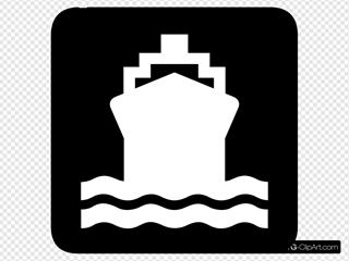 Water Transportation Sign