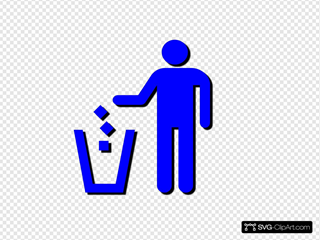 Use Trash Sign