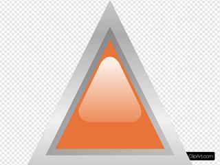 Led Triangular 1 (orange)