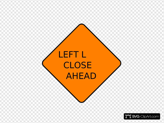 Left Lane Closed Ahead