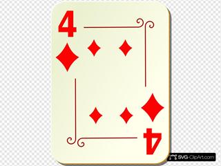 Ornamental Four Of Diamonds