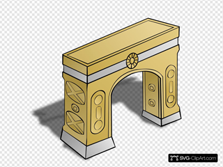 Rpg Map Arch Symbol