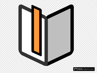Color Bookmark Icon