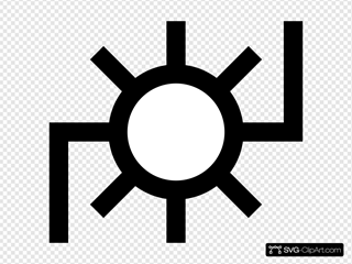 Japanese Map Symbol Power Plant