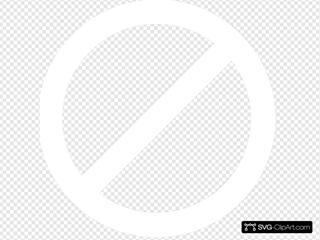 White No Symbol