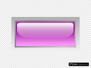 Led Rectangular H (purple)