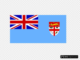 Fiji SVG Cliparts