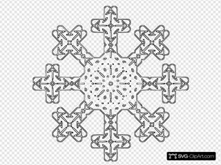 Flake  SVG Clipart