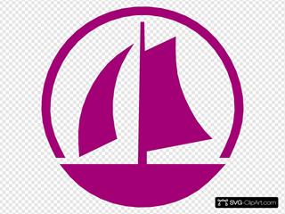 Nautical Marina Symbol