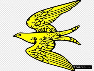Gold Bird Symbol