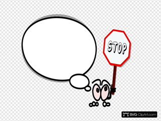 Bulle Droite Stop