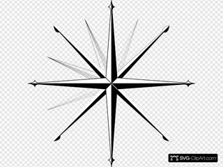 Wind Rose Compass Rose