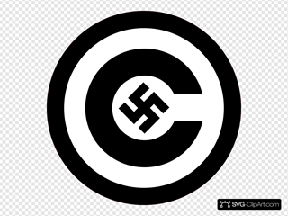 Copyright With Nazi Symbol