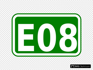 Street Sign Label E08