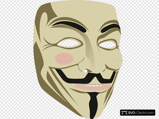 Guy Fawkes Mask Clipart