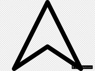 Up Arrow Head
