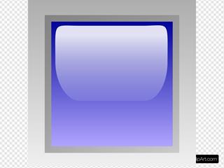 Led Square (blue)