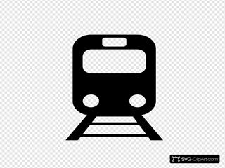 Metro Train Black 2