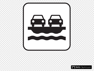 Vehicle Ferry White