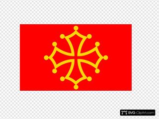 Flag Of Midi Pyrenees