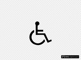 Standard Handicapped Symbol
