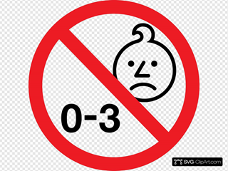Age Warning Symbol