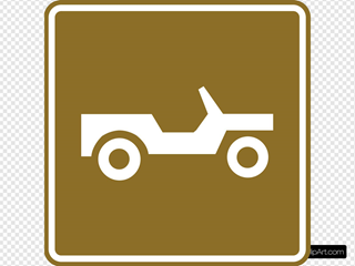 Offroad Tourist Sign