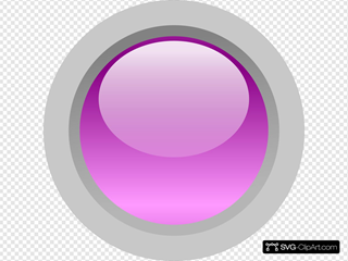 Led Circle (purple)