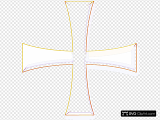 Angelo Gemmi Holy Greek Color Cross