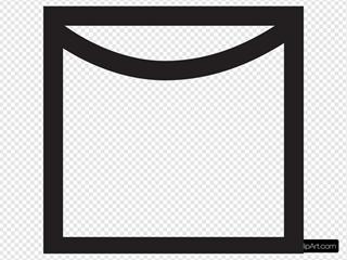 Line Dry Symbol