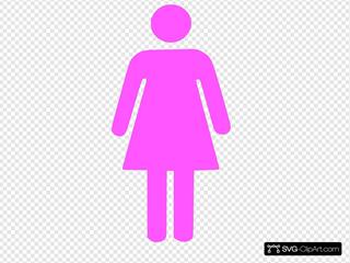 Female Symbol SVG Clipart