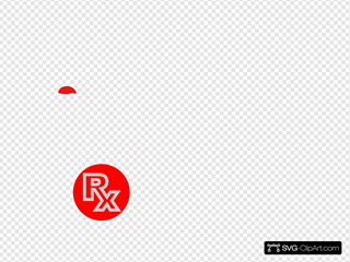 Red Rx Button